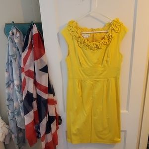 Bright yellow London Times summer dress